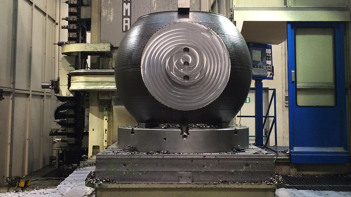 Machining after coating 2