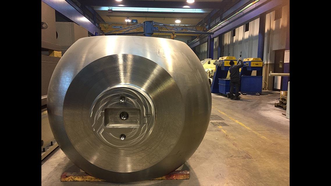 Machining after welding 2