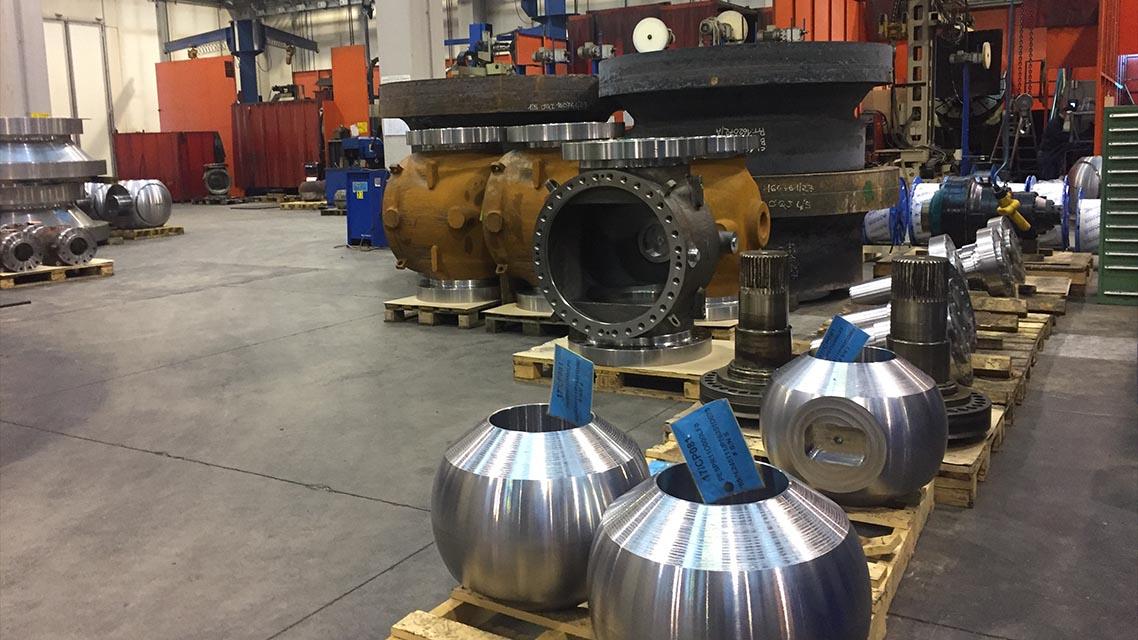 Machining and welding dept