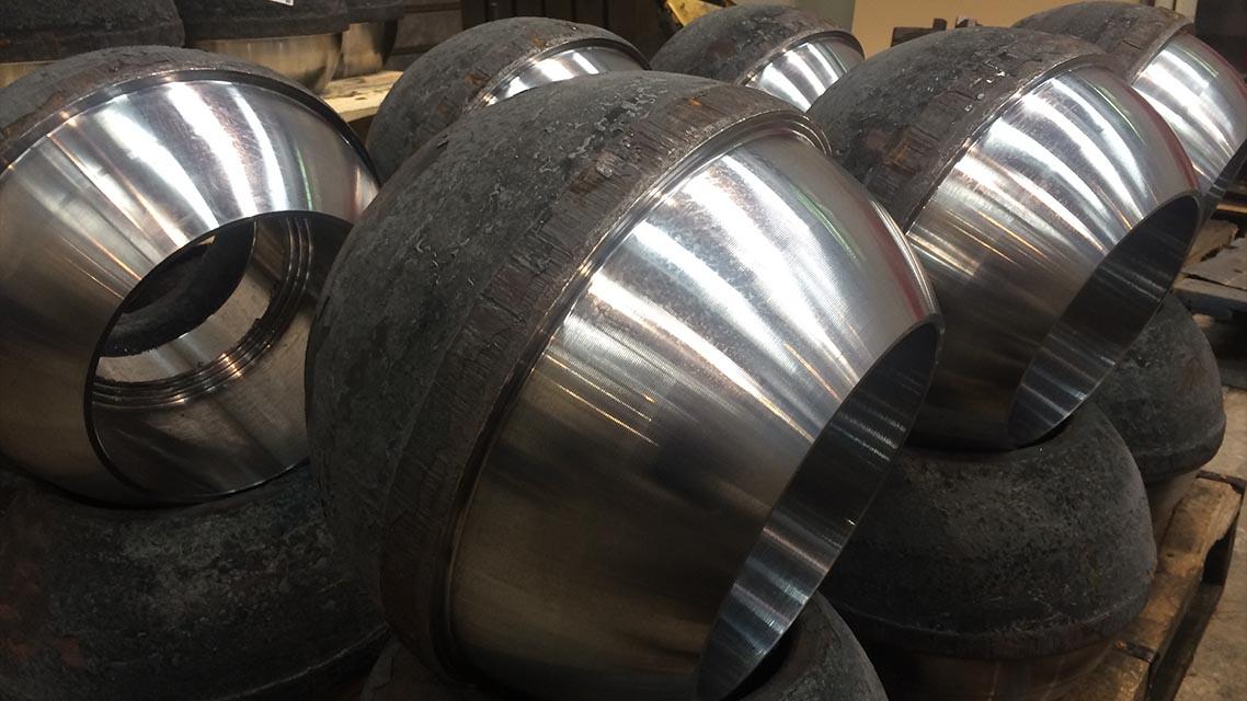 Machining before welding