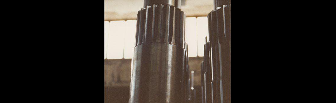 Spline shafts for Fassi
